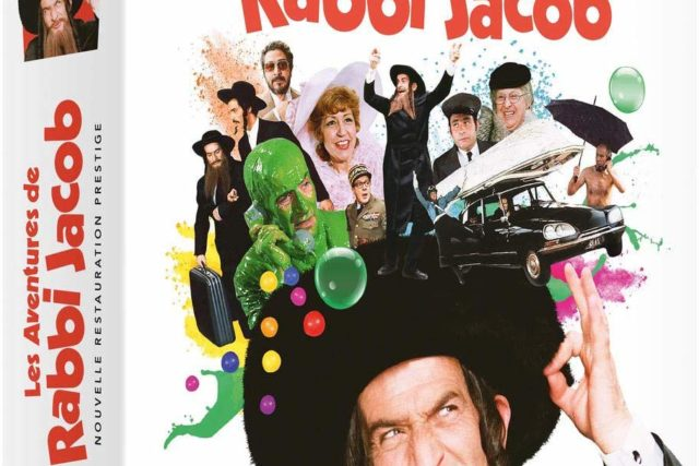 DVD : Il était une fois... Les Aventures de Rabbi Jacob