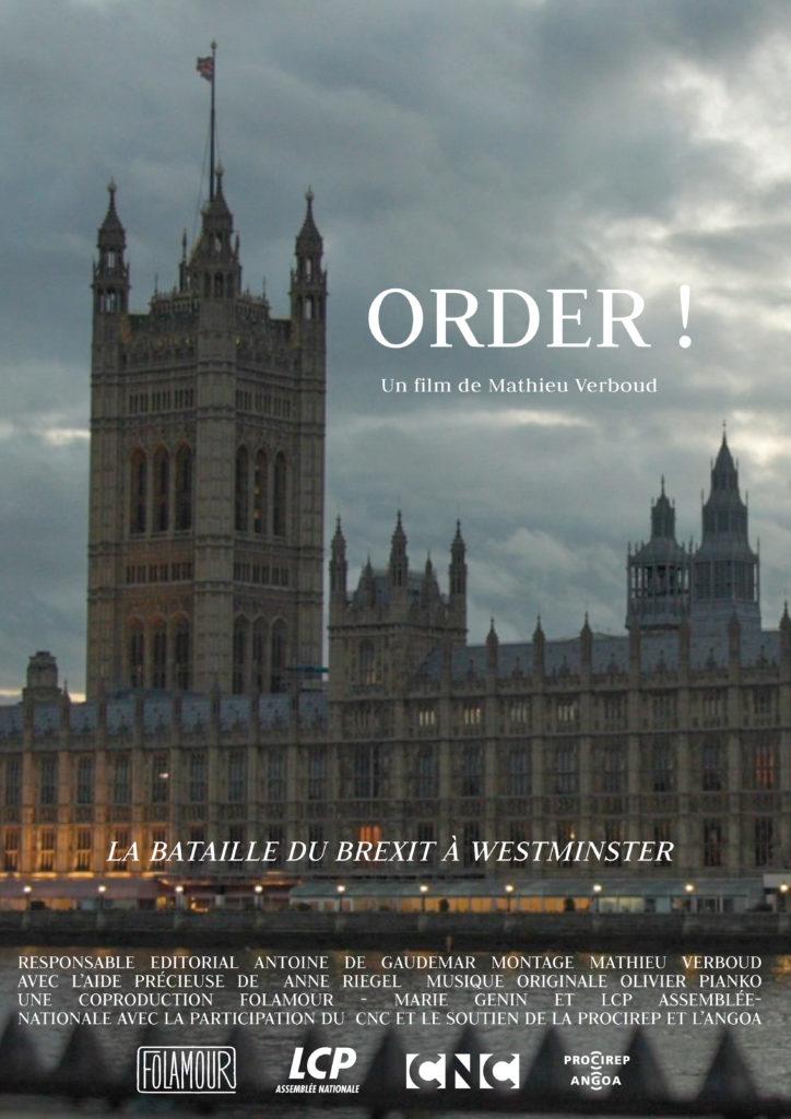 ORDER ! - Disponible en Replay sur LCP